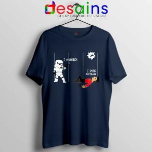 Stormtrooper And A Redshirt Navy Tshirt Star Wars Vs Star Trek Tees