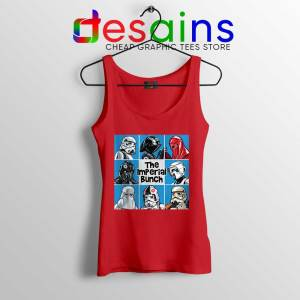 Stormtrooper Mash Up Red Tank Top The Imperial Bunch Tops