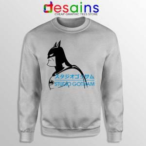 Studio Gotham Japanese SPort Grey Sweatshirt Batman DC Merch Sweaters