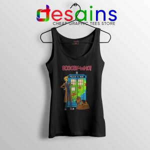 Tardis Scooby Who Tank Top Scooby Doo Where Are You Tops S-3XL