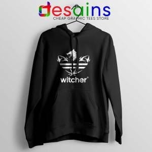 The Witcher Three Stripes Logo Hoodie Netflix TV Series Jacket S-2XL