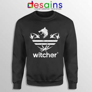 The Witcher Three Stripes Logo Sweatshirt Netflix TV Series Sweaters