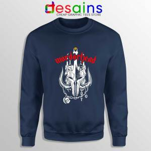 MordorHead Middle Earth Navy Sweatshirt Lord of the Rings Sweaters