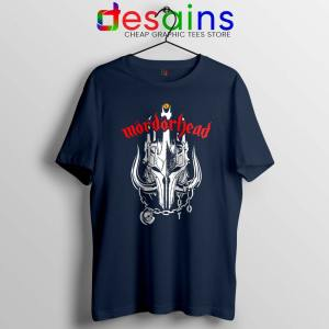 MordorHead Middle Earth Navy Tshirt Lord of the Rings Tee Shirts