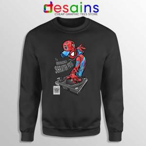 Spider Man Dj Marvel Comics Sweatshirt Peter Parker Sweaters S-3XL