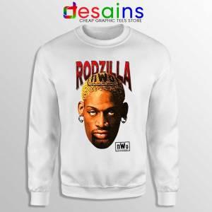 Rodzilla Dennis Rodman Sweatshirt The Worm nWo Wrestling Sweaters