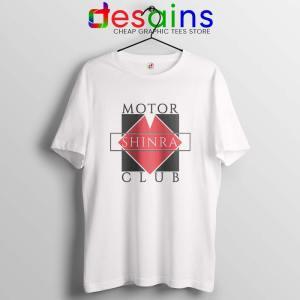 Shinra Motor Club Tshirt Final Fantasy VII Tee Shirts S-3XL