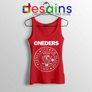 The Oneders Band Red Tank Top That Thing You Do Tops