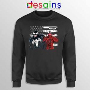 Venom And Spider Man Sweatshirt Were Sorry Ms Parker Sweaters S-3XL