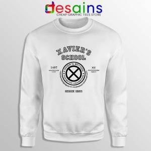 Xavier Institute X Mansion White Sweatshirt X-Men Merch Sweaters