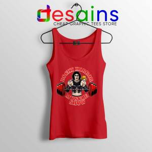Rocky Horror Picture Show Red Tank Top Muscle Show Workout Tops