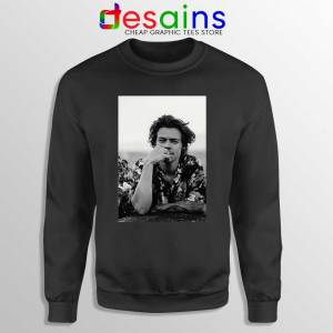 Dont Look Back black Sweatshirt Harry Styles Quotes Sweaters