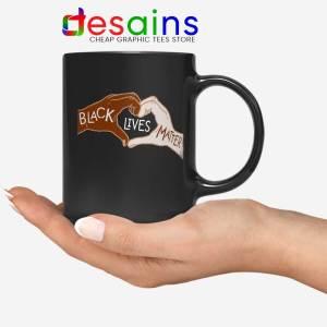 Heart Hands Mug Black Lives Matters Coffee Mugs 11oz