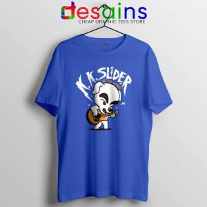 K K Slider vs The World Blue Tshirt Scott Pilgrim vs the World Tee Shirts