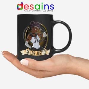 Sailor Justice BLM Mug Black Lives Matter Sailor Moon Coffee Mugs 11oz