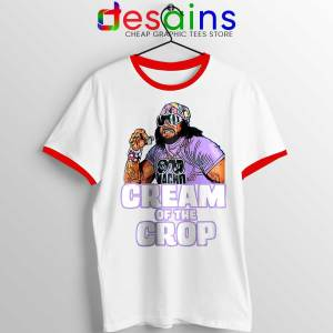 Cream Of The Crop Red Ringer Tee Macho Man Cheap Ringer Shirts