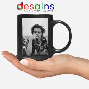 Dont Look Back Black Mug Harry Styles Quotes Coffee Mugs 11oz