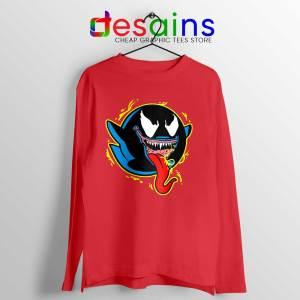 King Boo Venom Long Sleeve Tee Marvel Comics Ghosts T-shirts Long