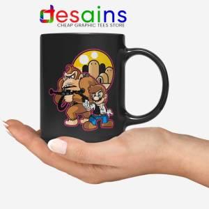 Mario Han Solo Mug Star Wars Super Mario Coffee Mugs 11oz