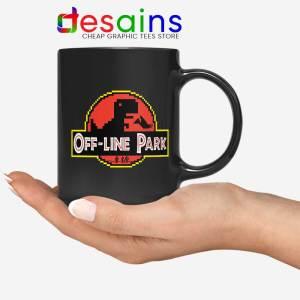 Off Line Park Mug Jurassic Park T-Rex Dinosaur Coffee Mugs