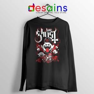 Papa Boo Ghost Long Sleeve Tee Mario and Yoshi T-shirts Long