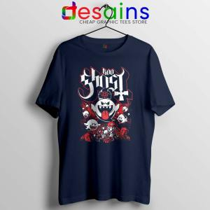 Papa Boo Ghost Navy Tshirt Mario and Yoshi Tee Shirts S-3XL