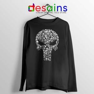 Punisher Skull Symbol Long Sleeve Tshirt The Punisher Logo Tees