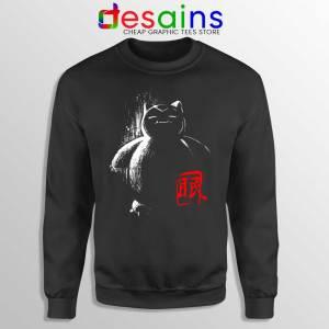 Sleep Snorlax Monster Sweatshirt Japanese Pokemon Sweaters