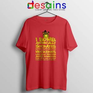 Wu Tang Saga Red Tshirt An American Saga Graphic Tees