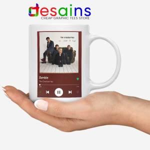 Zombie The Cranberries White Mug Rock Band Merch Coffee Mugs