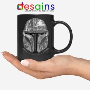 Mandalorian Helmet Mug Star Wars Boba Fett Coffee Mugs