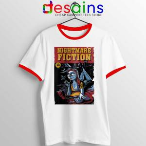 Pulp Fiction Girl Red Ringer Tee Nightmare Before Christmas
