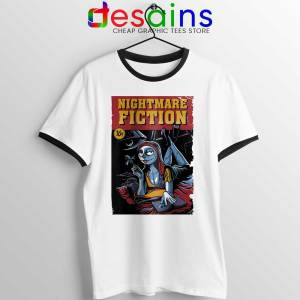 Pulp Fiction Girl Ringer Tee Nightmare Before Christmas