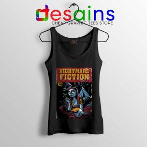 Pulp Fiction Girl Tank Top Nightmare Before Christmas Tops