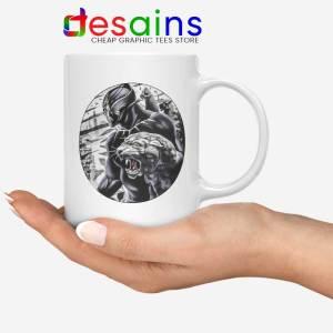 The Black Prince White Mug RIP Black Panther Coffee Mugs 11oz