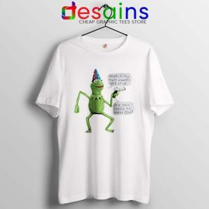 Kermit The Frog Tshirt Yer A Wizard Tee Shirts