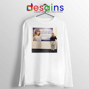 Phoebe and Taylor Swift Long Sleeve Tee Education Center T-shirts