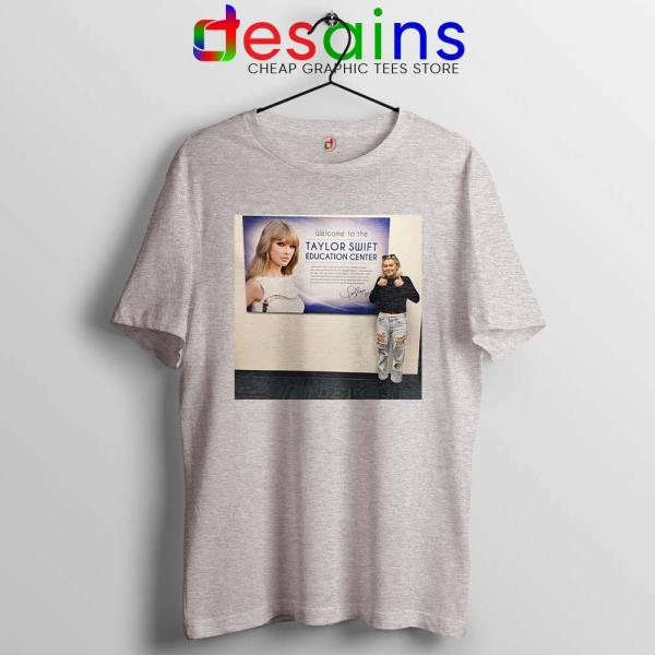 Phoebe and Taylor Swift Sport Grey Tshirt Education Center Friends Tees