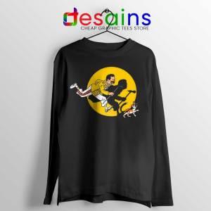 The Adventures of Freddie Long Sleeve Tee Freddie Mercury Queen