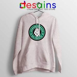 The Jasmine Dragon Sport Grey Hoodie Uncle Iroh Avatar Starbucks Jacket