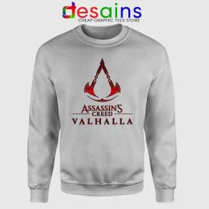 Assassins Creed Valhalla Sport Grey Sweatshirt Adventure Game