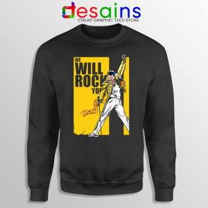 We Will Rock You Sweatshirt Freddie Mercury Kill Bill Sweaters