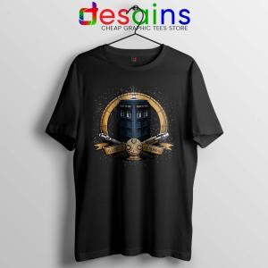 Allons y Geronimo Tardis Tshirt Doctor Who Tee Shirts