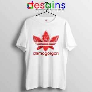 Demogorgon Adidas Tshirt Stranger Things Three Stripes Tees