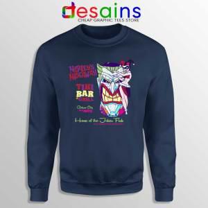 Harley Quinn Hideaway Navy Sweatshirt Bar and Grill DC Comics