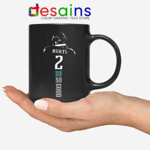 Jalen Hurts Philadelphia Mug Eagles NFL Merch Coffee Mugs