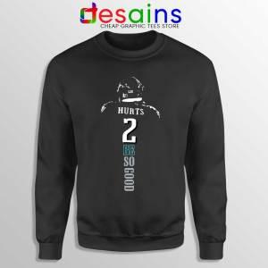 Jalen Hurts Philadelphia Sweatshirt Eagles NFL Merch Sweaters