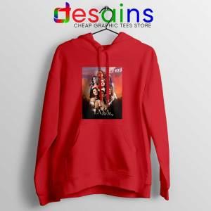 Lana Del Rey Hollywood Red Hoodie Born to Die Jacket