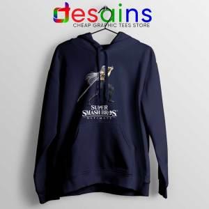 Sephiroth 2 Navy Hoodie Super Smash Bros Ultimate Jacket