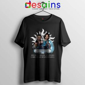 Supernatural Family Tshirt Dont End With Blood 4W Tee Shirts